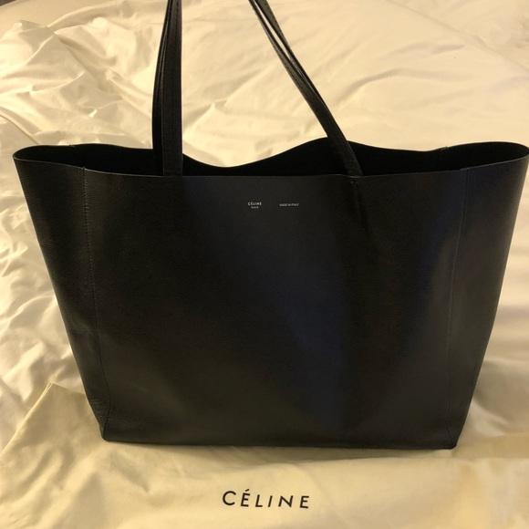 3894edfc19e7 Celine Handbags - Celine Horizontal Cabas Leather Tote